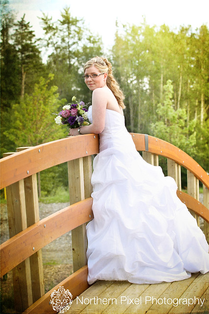 Beautiful Bride at UNBC