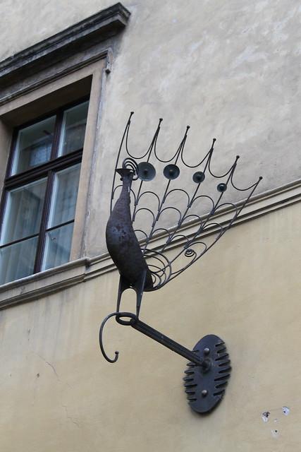 Enseigne Paon, Prague