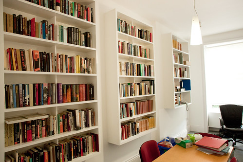 Shelves in an Office