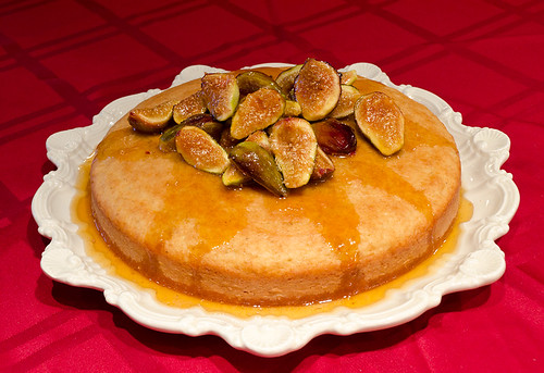 Fig-Honey Glazed Summer Cake
