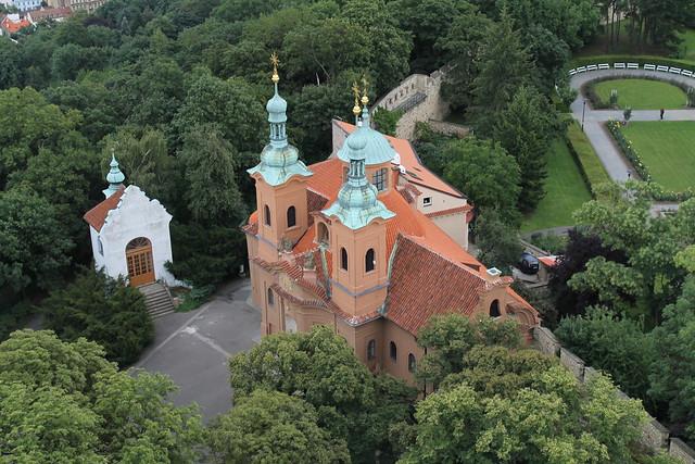 Église St Laurent, colline de Petřin, Prague