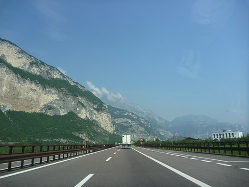 A22 Autostrada - Verona to Bolzano - Brenner Pass from Verona to Bolzano