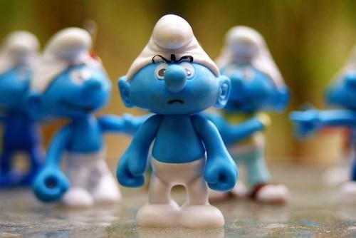 Angry Smurf