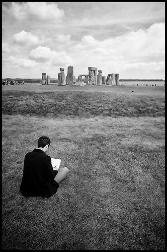 Drawing Stonehenge by Davidap2009