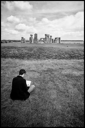 Drawing Stonehenge by Davidap2009
