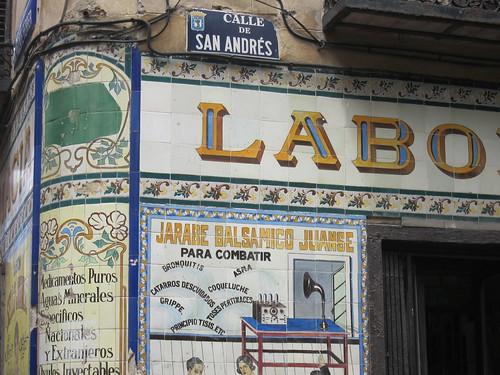 Calle de San Andrés, Malasaña. Madrid
