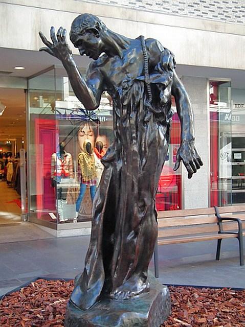 Los Burgueses de Calais escultura de Rodin en Las Palmas de Gran Canaria 08