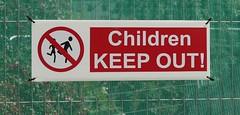 children keep out