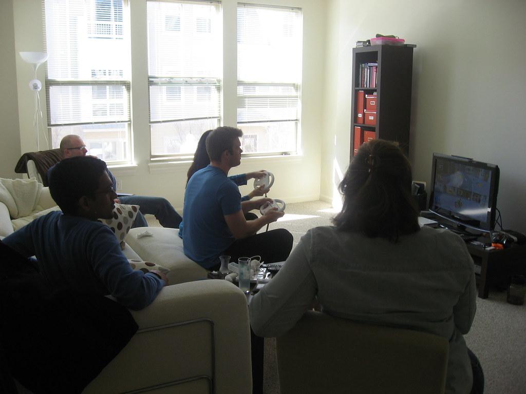 Friends, Turkish breakfast, and Wii.