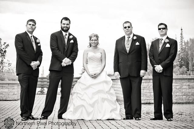 Wedding at UNBC