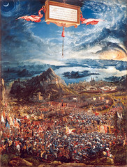 The Battle of Alexander at Issus, 1529, by Albrecht Altdorfer