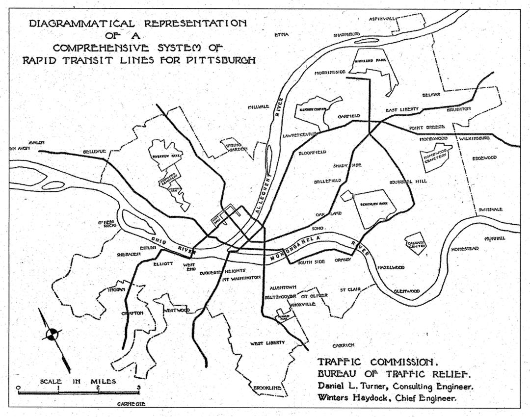 Pittsburgh Subway Plan Flickr