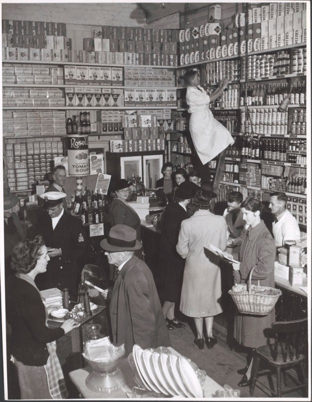 Grocery stock clerk, Grocery section Bell and Macaulay\'s Store Drouin V…