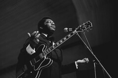 B. B. King, Hamburg, 1971, by Heinrich Klaffs