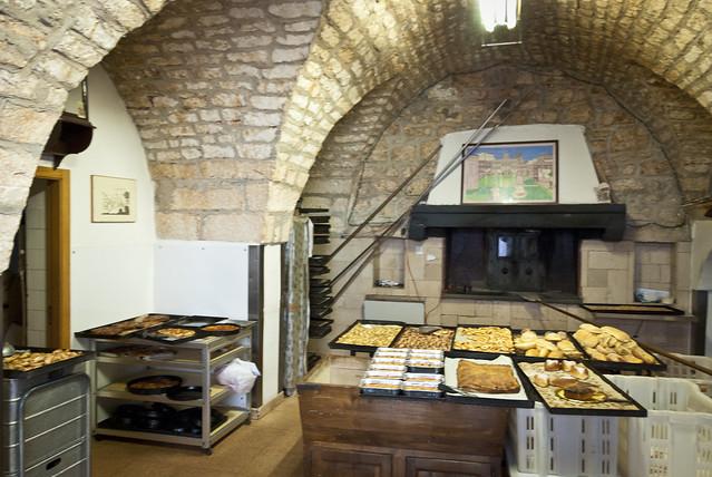 De bakkerij van Forno 31 in Ostuni