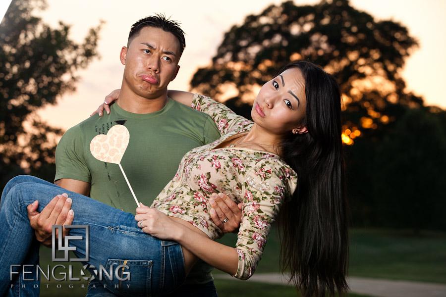 Sophear & Jake Engagement Session | Freedom Park | Atlanta Engagement Photographer