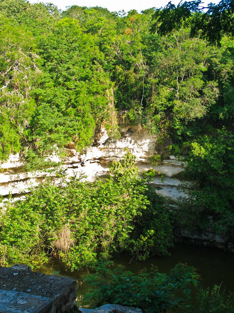 The Cenote Sagrada at Chichen Itza
