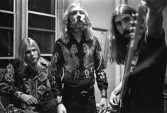 Gregg Allman, Duane Allman, Berry Oakley, 1970, by Michael Ochs