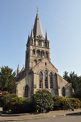 2011.09.25.073 TOURNAI - Rue des Soeurs Noires - Église Saint-Jacques