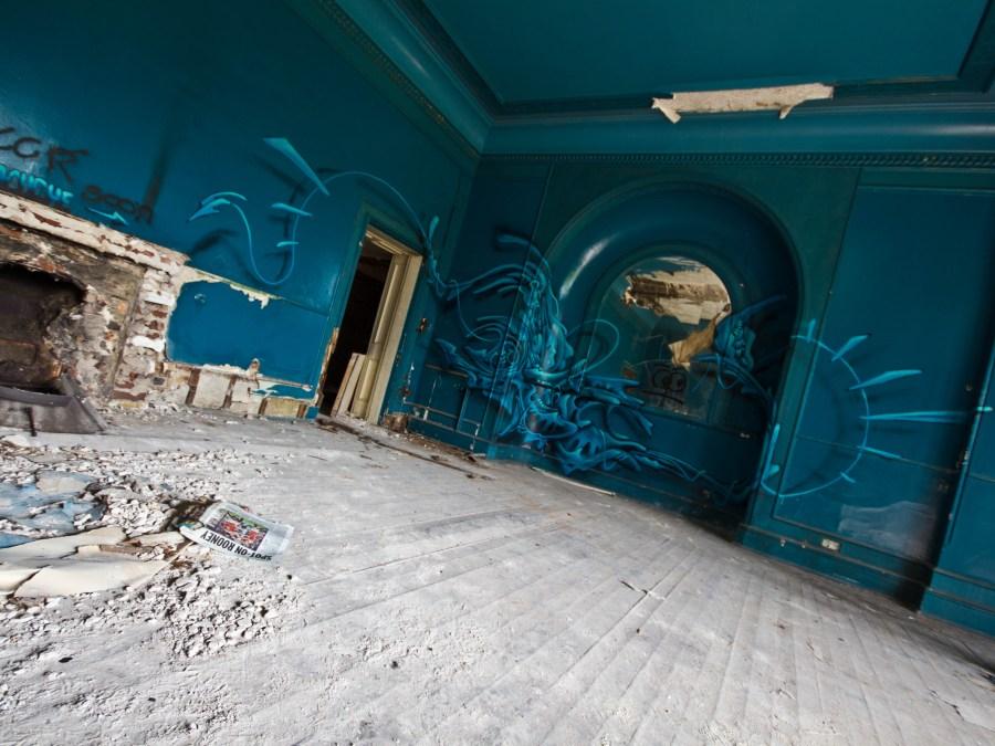 Kent School urbexlocatie, foto door Chris Jefferson | Standort Hamburg