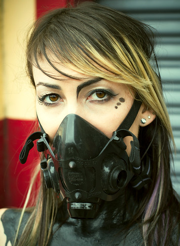 Respirator Blonde by rebreatherstudent
