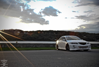 Justin Whitted's Twin Turbo Mazda 6