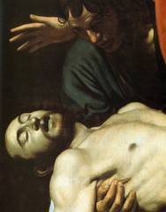 The Entombment, Detail, by Caravaggio