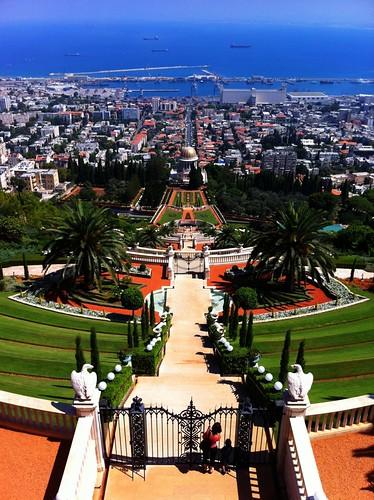 Haifa's stunning Bahá'í Gardens