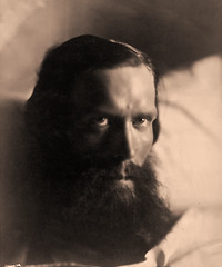 Philip Stanhope Worsley, 1864-66, by Julia Margaret Cameron
