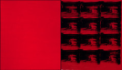 Red Disaster, 1963-1985, by Andy Warhol (Courtesy Boston Museum of Fine Art)