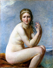 Psyche Abandoned, c.1795, by Jacques-Louis David