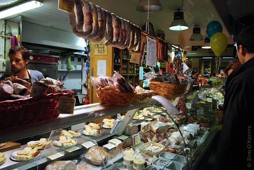 On The Pig's Back, The English Market, Cork City, Ireland