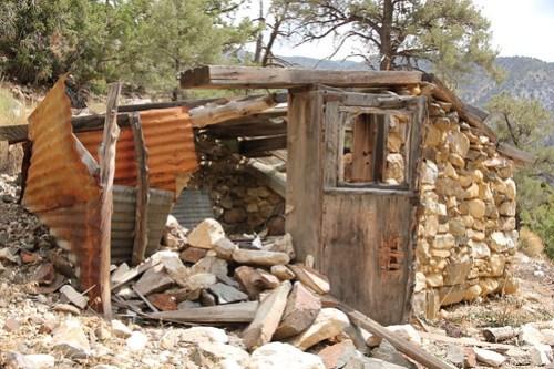 Ruins in Sourdough Canyon
