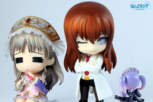 Totori looks stressed, while Kurisu is talking to Chimu