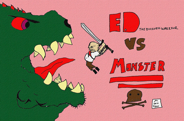 ED vs Monster