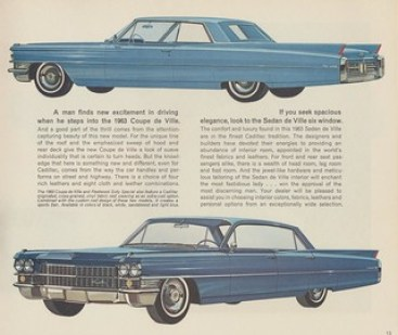 1963 Cadillac Coupe de Ville and Sedan de Ville