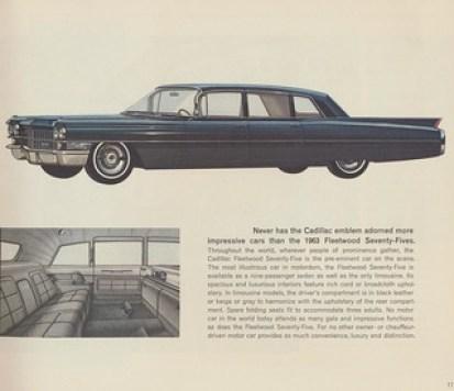 1963 Cadillac Fleetwood Seventy-Five