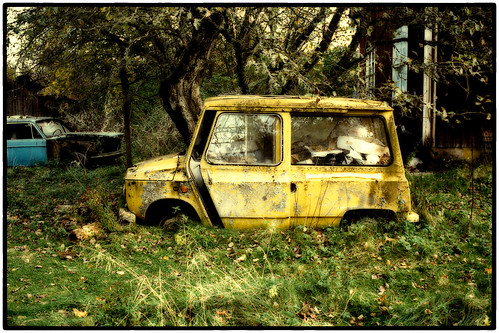 Little Yellow Van by Davidap2009