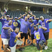 Members of Omega Psi Phi volunteered their time as umpires and referees for the friendly tournament at the the UH AUW Softball Tourment at Les Murakami Stadium on Sept. 30, 2011