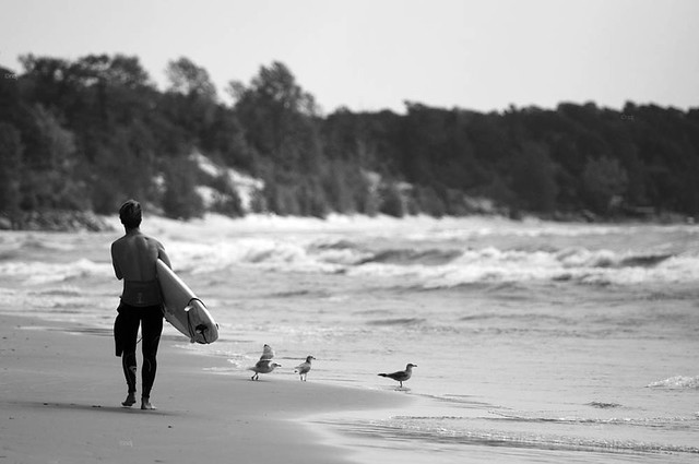 a great day for surfing