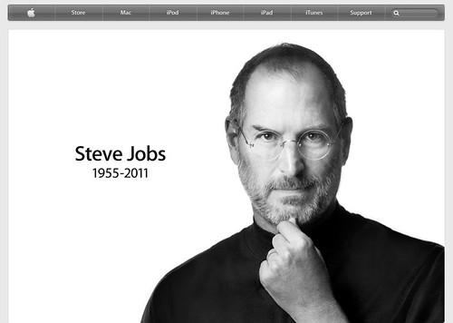 Steve Jobs Eulogized on the Apple Website