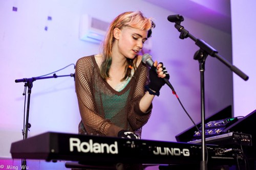 Grimes @ Mission Santa Cruz