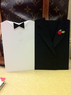 Tuxedo Pocket Card-Open
