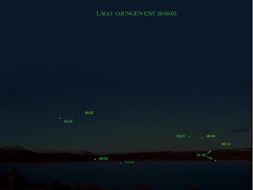 luci lago scritte