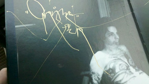 Signed copy of two year autopsy. By grime awr