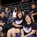 Some of the UH West O'ahu fans at the UH AUW Softball Tourment at Les Murakami Stadium on Sept. 30, 2011
