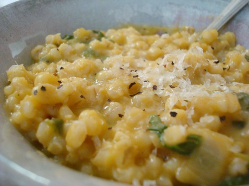 Butternut Squash Barley Risotto