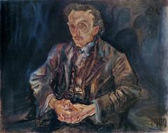 Adolf Loos, 1909, by Oskar Kokoschka