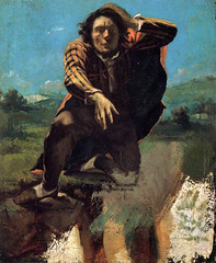 The Man Made Mad With Fear, 1843-4, by Courbet