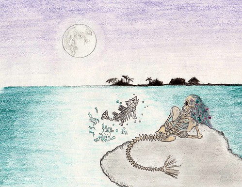 Night of The Living Dead Little Mermaid by Giant Hamburger